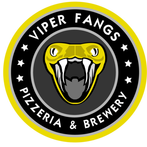 Viper Fangs - Pizzeria and Brewery Logo