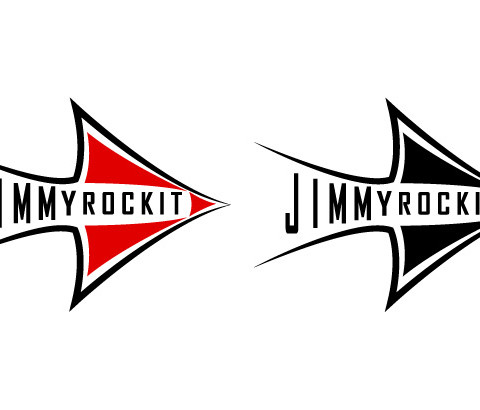 Jimmy Rockit Logo - Vector Logo for Exotic Leather Goods Company