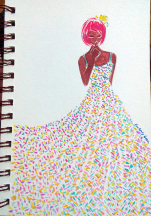 I Create Colorful Fashion Prints to Curb My Fear of Them (Part 2)