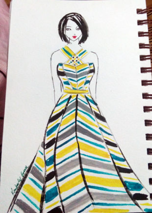 I Create Colorful Fashion Prints to Curb My Fear of Them (Part 3)
