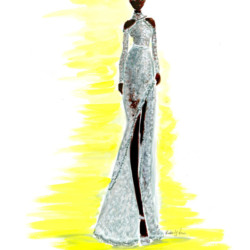 Runway Spring 2017 Couture Elie Saab – Fashion Illustration