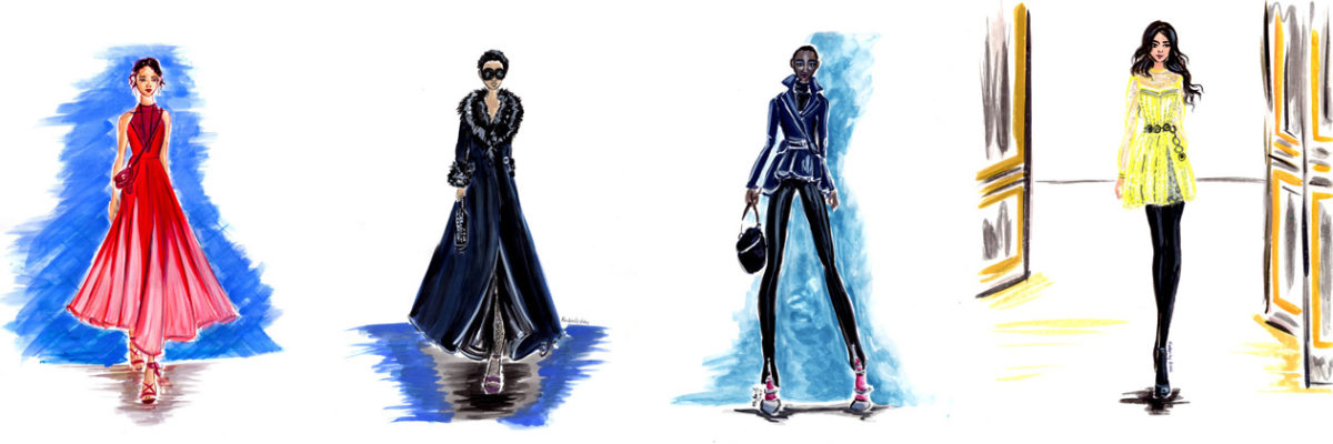 Best of 2017 Runway Review – Spring/Fall – Couture/Ready to Wear – Fashion Illustration