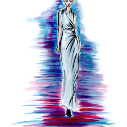Runway Spring 2017 Ready to Wear Lanvin – Fashion Illustration