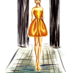 Runway Fall 2017 Ready to Wear Oscar de la Renta – Fashion Illustration