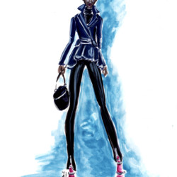 Runway Fall 2017 Ready to Wear Tom Ford – Fashion Illustration